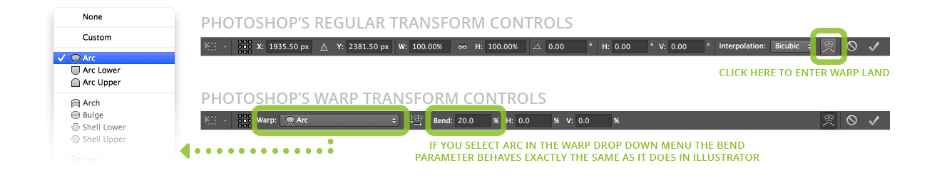 Photoshop's Transform Commands