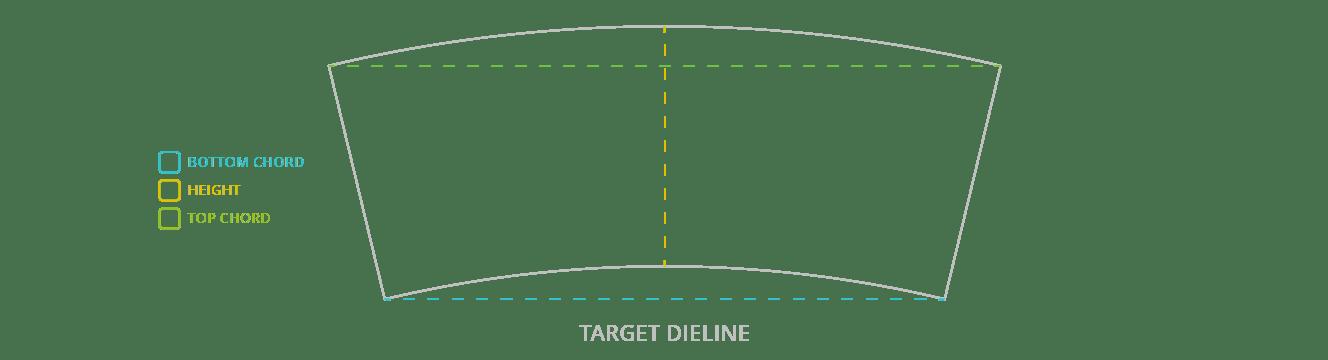 Measure Target Dieline