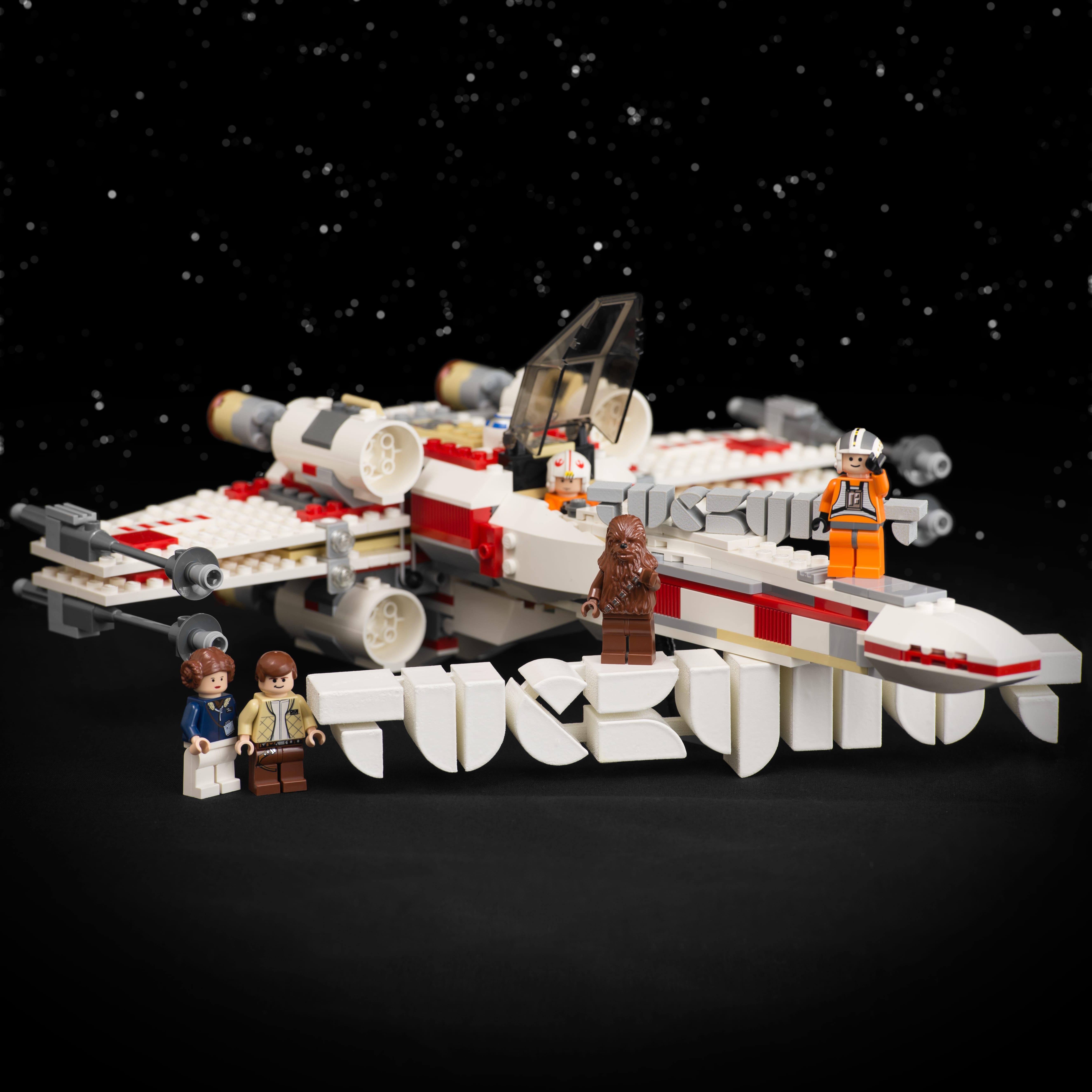 Tuckyhut 3D Logos X-Wing and Crew