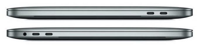 MacBook Pro Profil with USB-C Ports